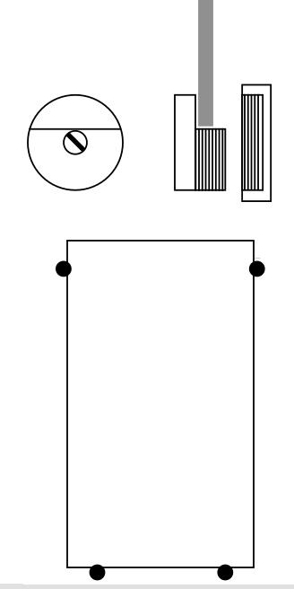 miroir fix sur une porte. Black Bedroom Furniture Sets. Home Design Ideas