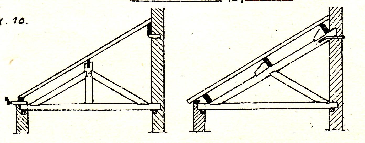 Plan charpente appenti bois