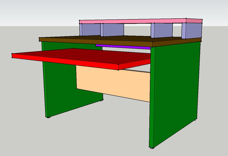 Projet Fabrication Meuble Studio
