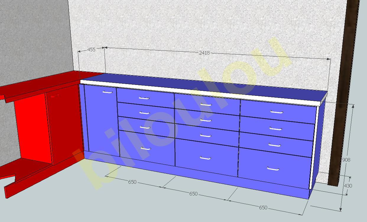 speed build sketchup chambre parentale sous les combles - logiciel ... - Logiciel Pour Amenager Une Chambre