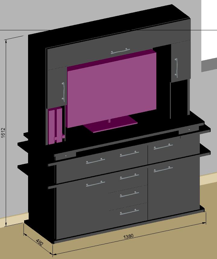 Comment fabriquer un meuble tv pas cher - Meuble tv vintage pas cher ...