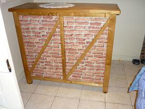 fabriquer un bar sans fixations. Black Bedroom Furniture Sets. Home Design Ideas