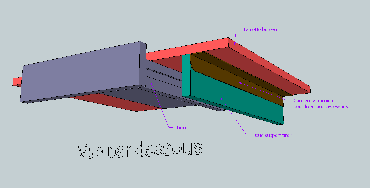 bureau avec tiroir. Black Bedroom Furniture Sets. Home Design Ideas