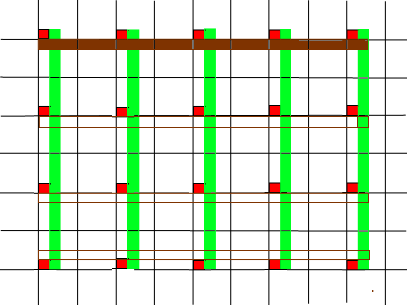 Calcul de portance pour terrasse sur pilotis