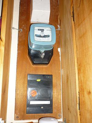 cr er un placard pour cacher compteur edf et pour rangements. Black Bedroom Furniture Sets. Home Design Ideas