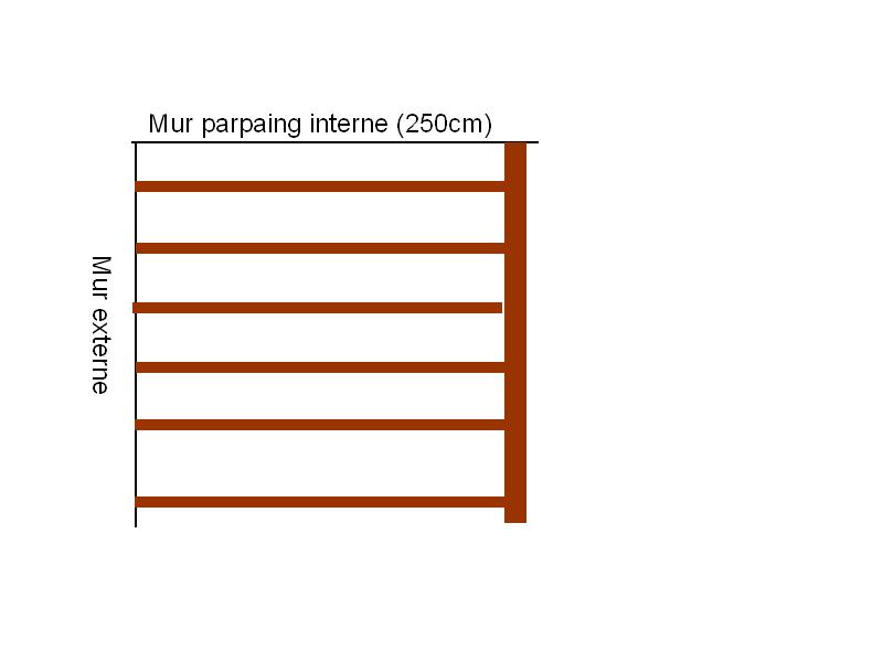 cr er espace de rangement en hauteur dans un garage style mezzanine. Black Bedroom Furniture Sets. Home Design Ideas