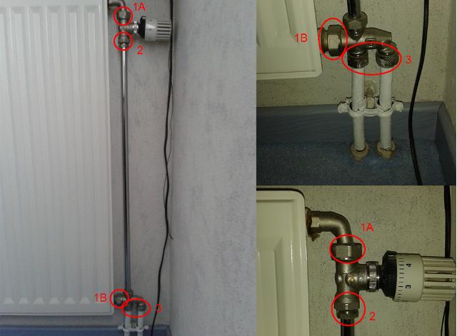 D montage radiateur installation monotube - Comment changer une vanne thermostatique sur un radiateur ...
