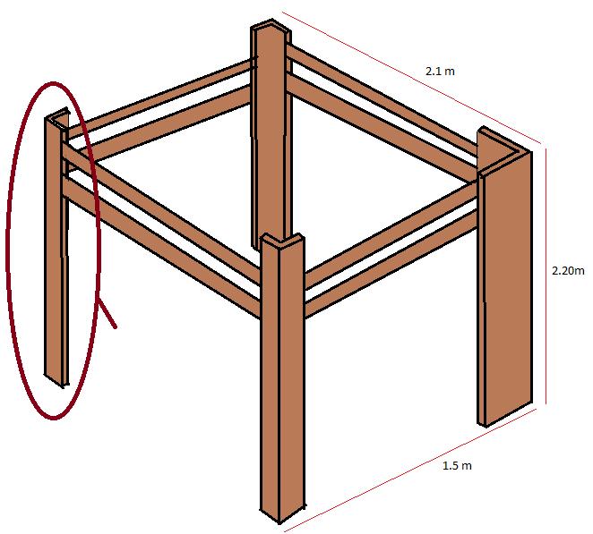 mezzanine suspendre. Black Bedroom Furniture Sets. Home Design Ideas