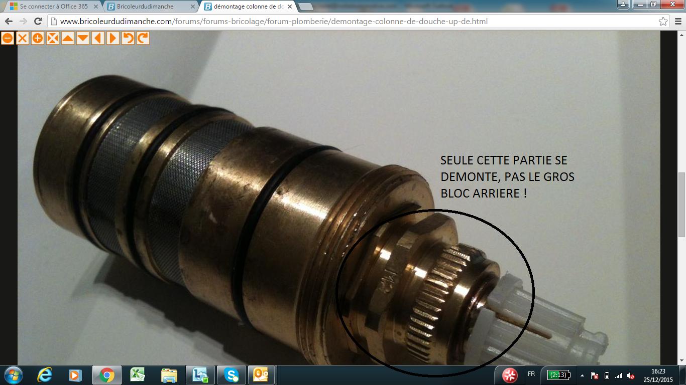 dmontage cartouche thermostatique jacob delafon - Demonter Un Robinet Thermostatique