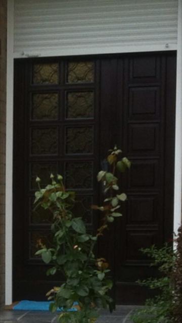 relooker une porte d 39 entree en bois. Black Bedroom Furniture Sets. Home Design Ideas