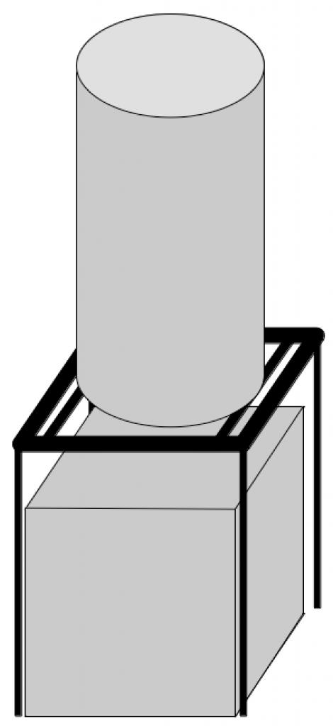 ballon d 39 eau support sous ba13. Black Bedroom Furniture Sets. Home Design Ideas