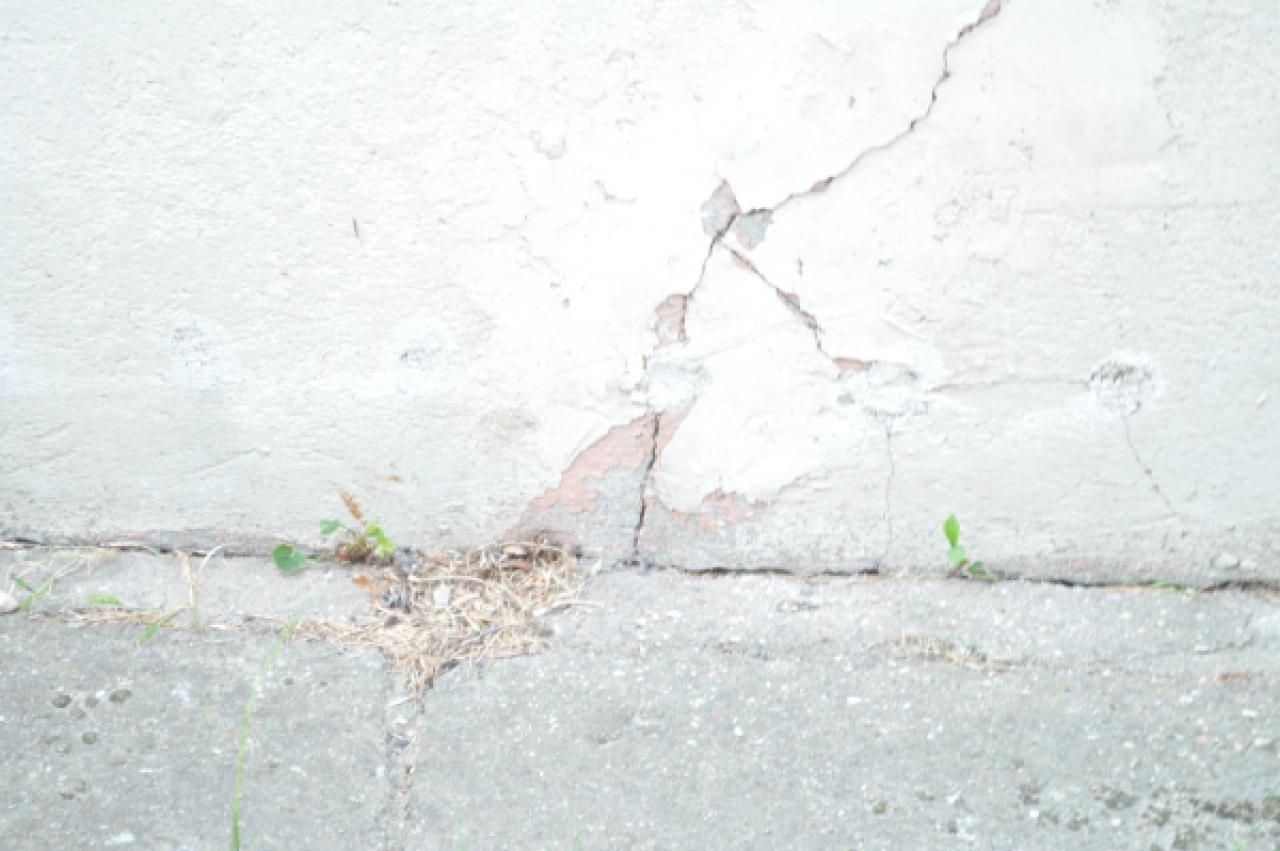 Mur enterr humidit for Plafonnage mur exterieur