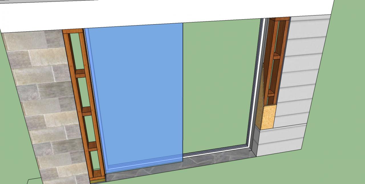 besoin de votre avis pour pose d 39 une baie avec volet electrique. Black Bedroom Furniture Sets. Home Design Ideas